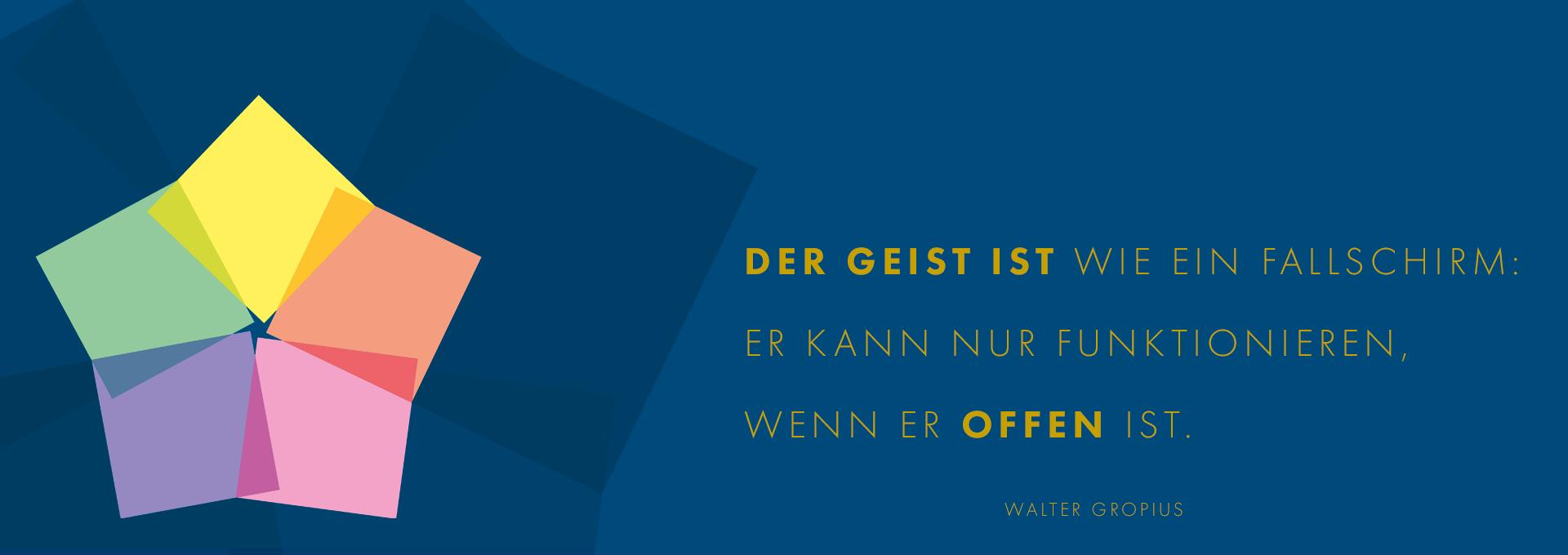 DER GEIST IST WIE EIN FALLSCHIRM: ER KANN NUR FUNKTIONIEREN,  WENN ER OFFEN IST. | Spielereien mit Pantone Color of the Year 2020